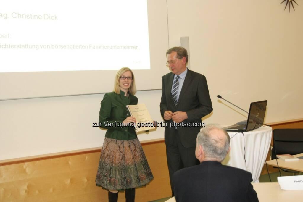 Christine Dick, Wilhelm Rasinger, © IVA (20.02.2013)