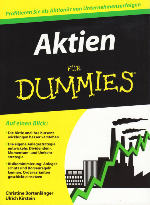 Christine Bortenlänger & Ulrich Kirstein - Aktien für Dummies - http://boerse-social.com/financebooks/show/christine_bortenlanger_ulrich_kirstein_-_aktien_fur_dummies