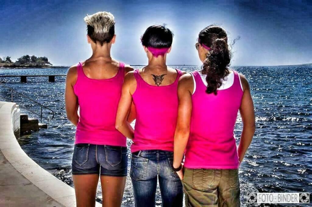 Drei Ausblick: Tristyle Runplugged Runners Meer  © Foto Binder (05.04.2015)