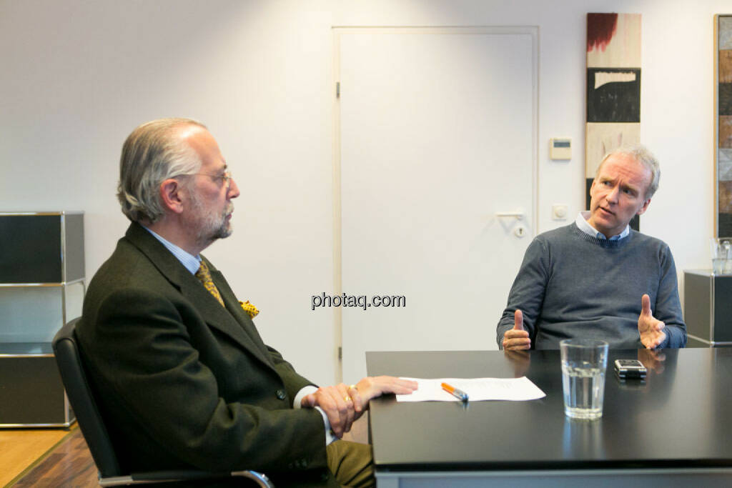 Manfred Waldenmair (be public), Christian Drastil, © photaq/Martina Draper (06.04.2015)