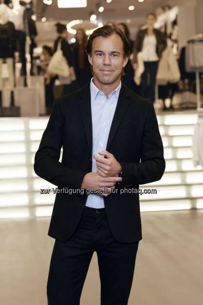 H&M: Karl-Johan Persson, CEO H&M: H&M präsentiert Fortschritte und ambitionierte Ziele im Nachhaltigkeitsbericht 2014, © Aussender (09.04.2015)