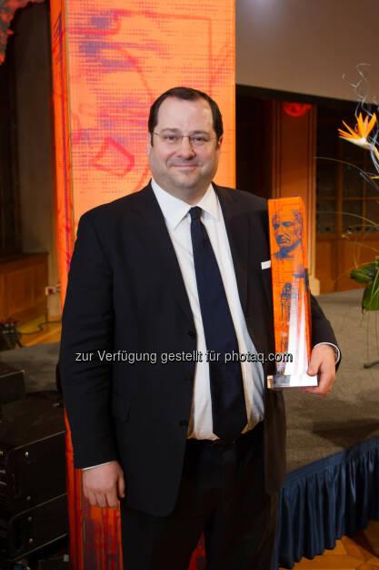 Immobilien-Cäsar für Buwog CEO Daniel Riedl, © Aussendung (10.04.2015)