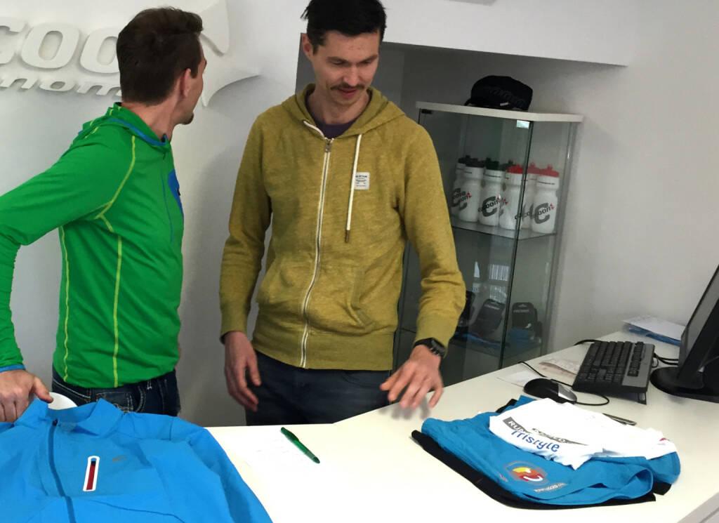 Mario Mostböck, Michael Duchek: - Cocoon zeigt die neue Tristyle Runplugged Laufbekleidung, © Diverse  (11.04.2015)