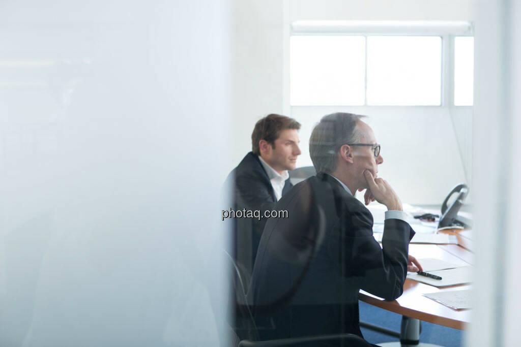 Peter Auer (Accenture), Klaus Malle (Accenture), © photaq/Martina Draper (11.04.2015)