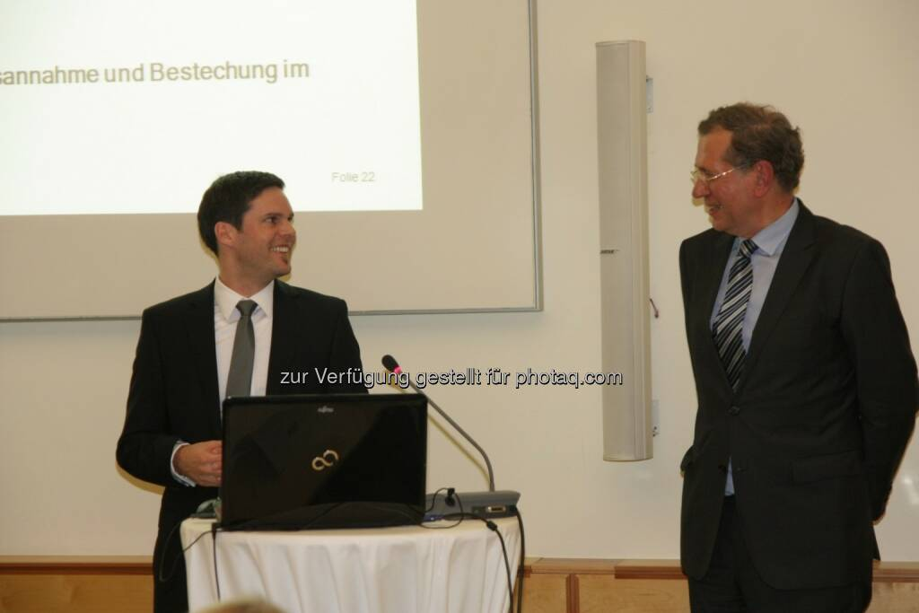 Hans-Jörg Rauch, Wilhelm Rasinger, © IVA (20.02.2013)