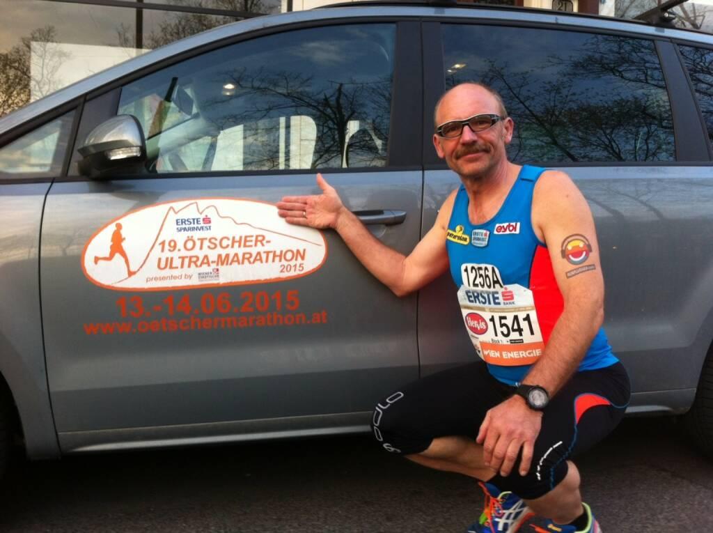 Gesamtrechnung über alle 32 VCMs: Erste-Sparinvest-Chef Franz Gschiegl baute beim VCM 32 seinen Vorsprung von 13 Minuten auf 37 Minuten aus ( bei rund 104 Stunden Gesamtlaufzeit). Runplugged gratuliert  (12.04.2015)