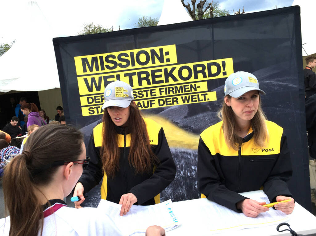 Post Mission Weltrekord (12.04.2015)