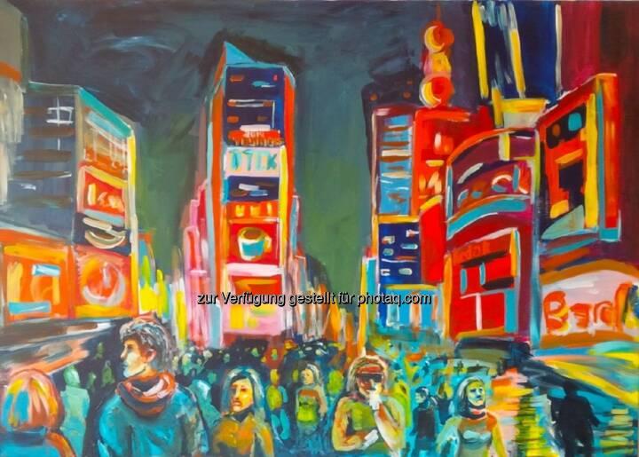 Chris Delias: Österreichischer Künstler Chris Delias bei ArtExpo in New York
