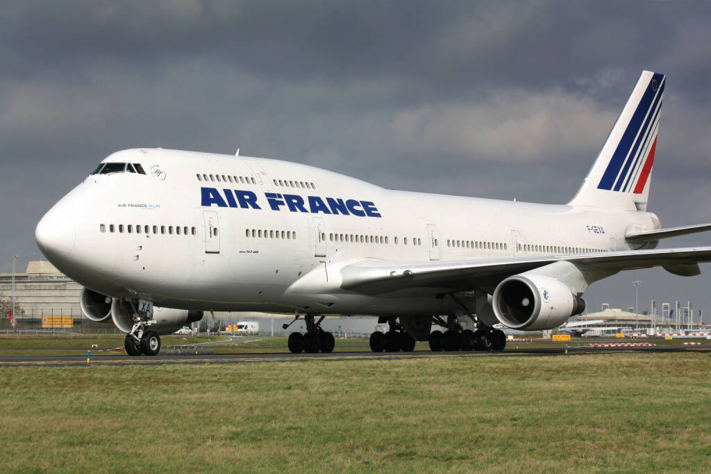 Air France Boeing B747-400 <a href=http://www.shutterstock.com/gallery-1462280p1.html?cr=00&pl=edit-00>Lukas Rebec</a> / <a href=http://www.shutterstock.com/editorial?cr=00&pl=edit-00>Shutterstock.com</a>, © www.shutterstock.com (13.04.2015)