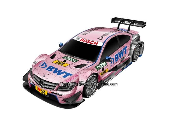 BWT wird neuer Sponsor von DTM Mercedes AMG