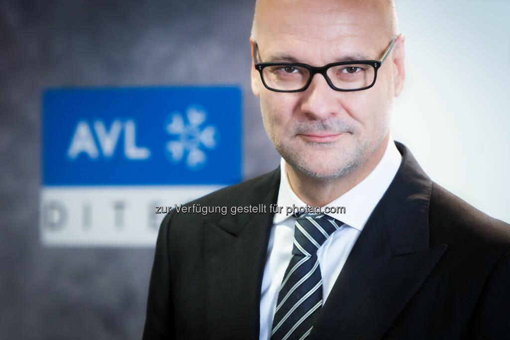 Gerald Lackner, vorsitzender Geschäftsführer von AVL DiTest: AVL DiTestT steigert den Umsatz um 50 Prozent, © Aussender (15.04.2015)