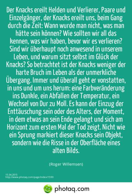 Der Knacks  (15.04.2015)