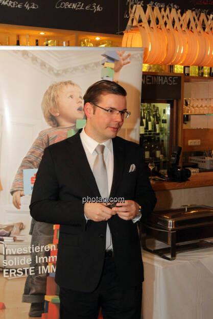 Peter Karl (Erste Immobilien KAG – Geschäftsführung) - Eisstockschiessen mit der Erste Immobilien KAG , © Herbert Gmoser für finanzmarktfoto.at (21.02.2013)