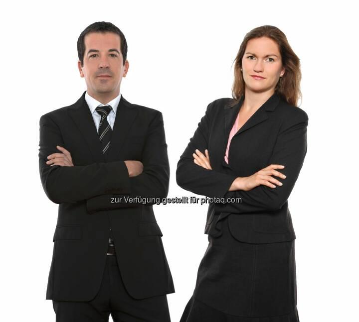 Wolfgang Höller und Miriam Simsa, beide Schönherr: Schönherr berät Kreditgeber der bauMax-Gruppe beim Verkauf des ungarischen Immobilien-Portfolios