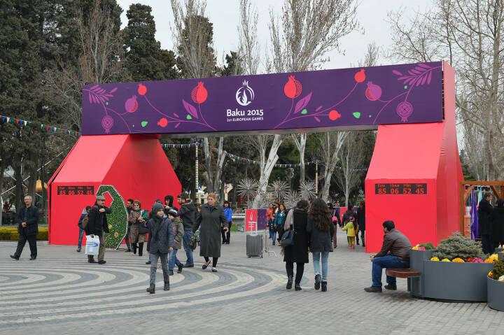 Baku, European Olympic Games 2015 <a href=http://www.shutterstock.com/gallery-2706847p1.html?cr=00&pl=edit-00>Tycson1</a> / <a href=http://www.shutterstock.com/editorial?cr=00&pl=edit-00>Shutterstock.com</a>