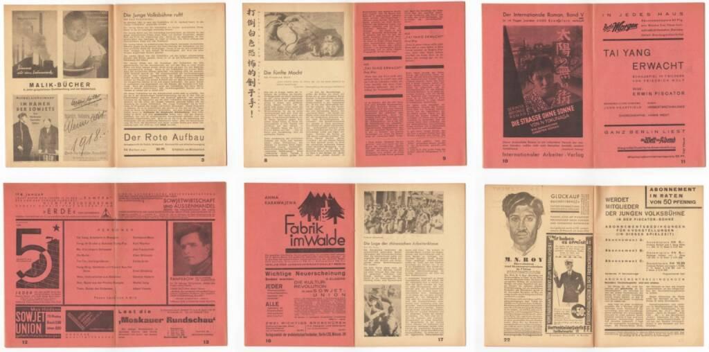 Blätter der Piscatorbühne - Tai Yang erwacht, Otto Gröner 1931, Beispielseiten, sample spreads - http://josefchladek.com/book/blatter_der_piscatorbuhne_-_tai_yang_erwacht, © (c) josefchladek.com (18.04.2015)