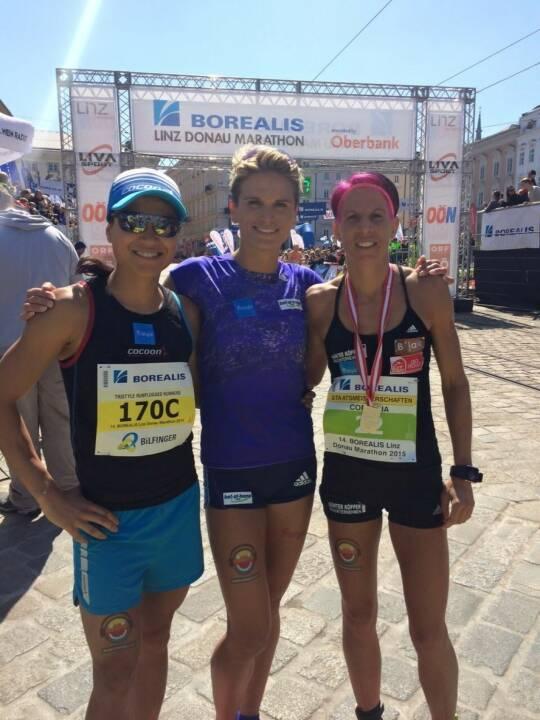 Tristyle Runplugged Runners mit Staffelrekord in Linz