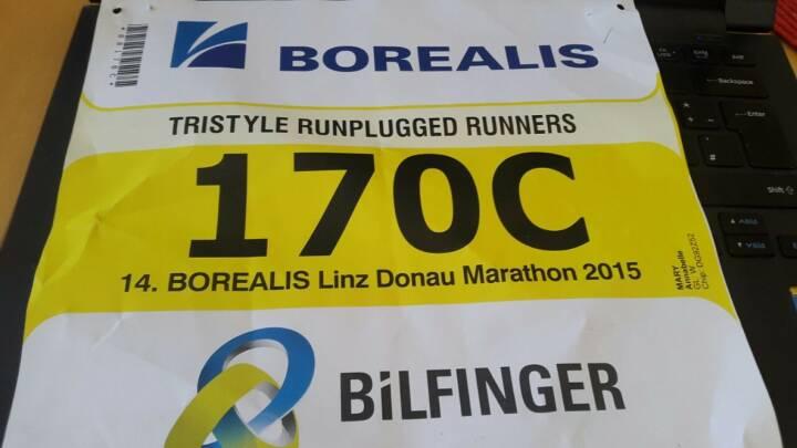 Bilfinger 170c: Tristyle Runplugged Runners mit Staffelrekord in Linz