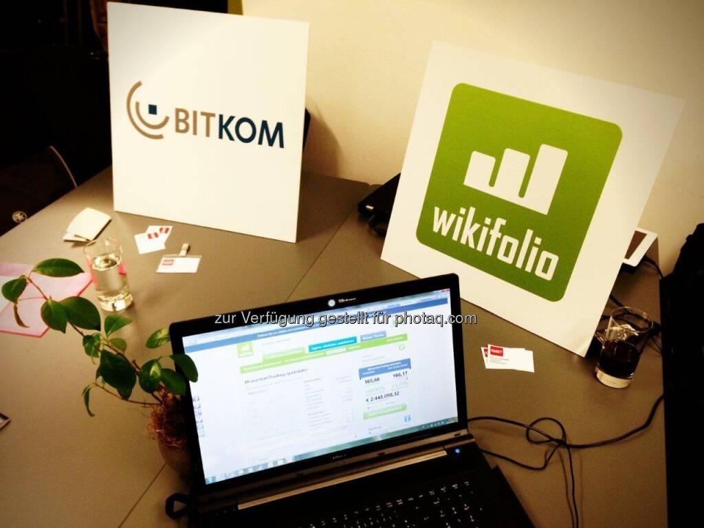 wikifolio.com auf der CeBIT (21.02.2013)