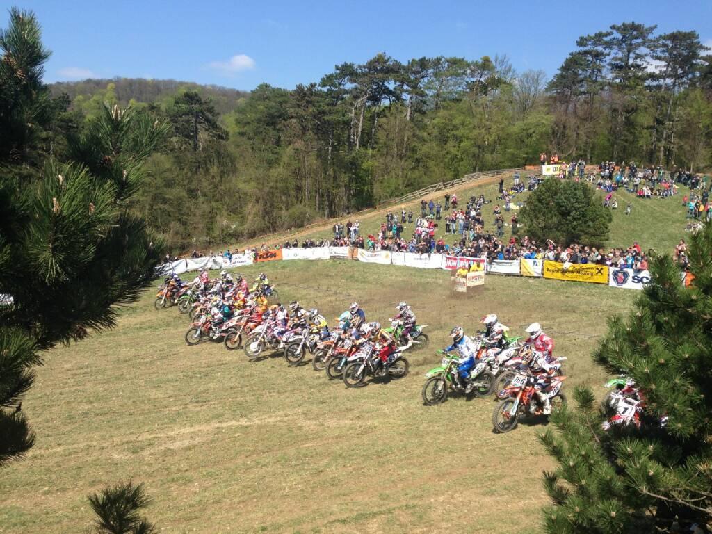 Start Moto-Cross Sittendorf (19.04.2015)