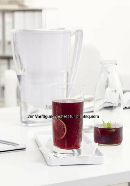 BWT Tischwasserfilter Eistee, © BWT (21.04.2015)