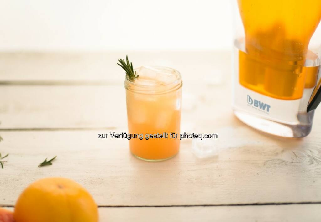 BWT Tischwasserfilter Grapefruit, © BWT (21.04.2015)