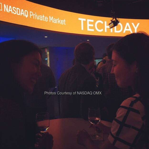 All smiles here @nasdaq Marketsite for #NYTD @TechDayNY  Source: http://facebook.com/NASDAQ (22.04.2015)