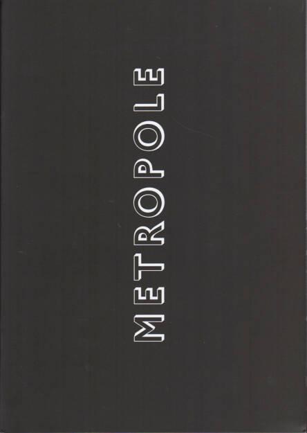 Lewis Bush - Metropole, Self published 2015, Cover - http://josefchladek.com/book/lewis_bush_-_metropole, © (c) josefchladek.com (22.04.2015)