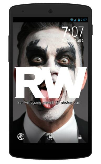 abalo Media GmbH: Picture Streaming App wSwipe launcht mit exklusiver Robbie-Williams-Kooperation, © Aussender (22.04.2015)