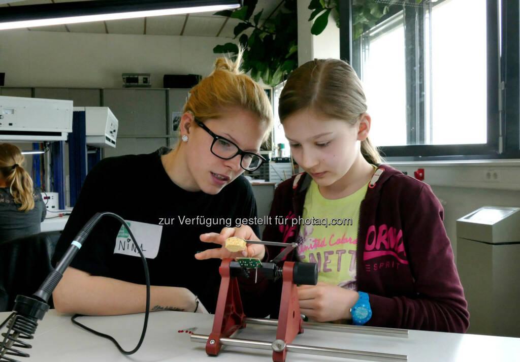 Wiener Töchtertag bei Siemens: Spannende Workshops bieten Einblicke in die Welt der Technik., © Aussendung (23.04.2015)