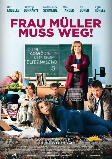 Constantin Film: Frau Müller muss weg gewinnt Goldene Romy in Wien, © Aussendung (24.04.2015)