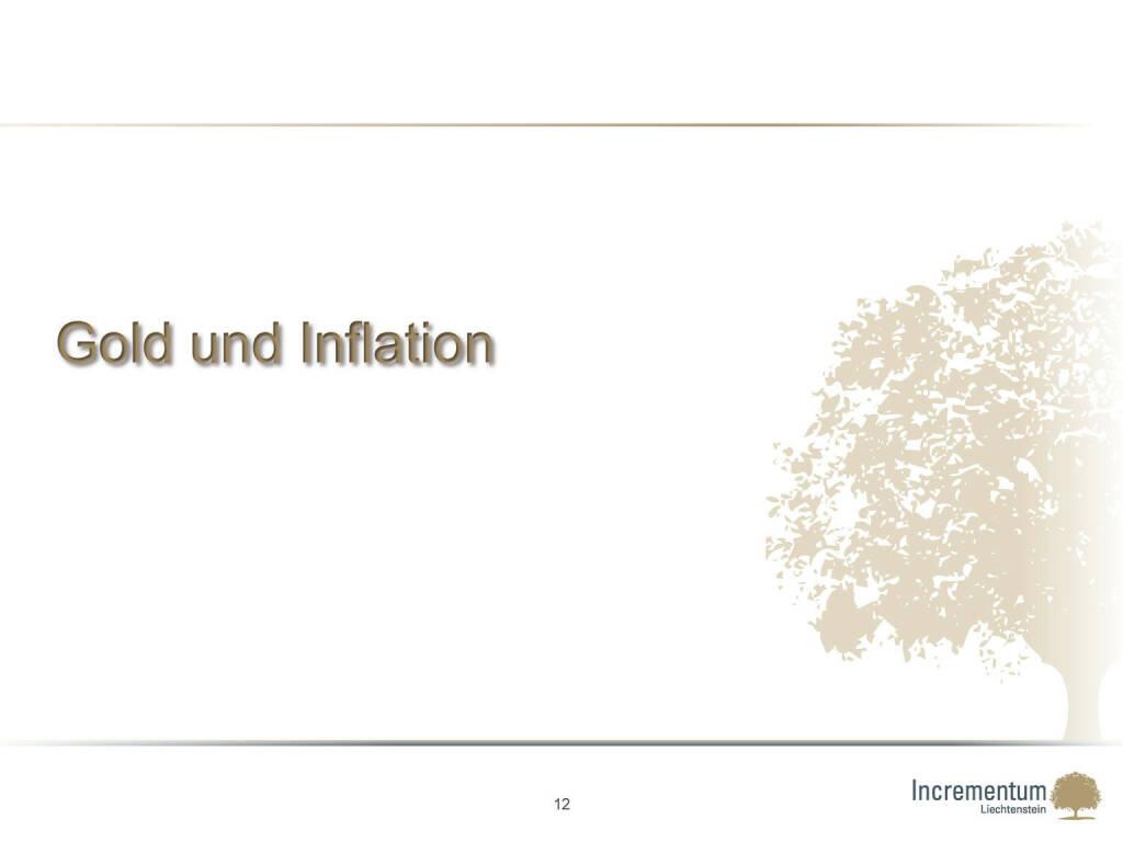 Gold und Inflation (24.04.2015)