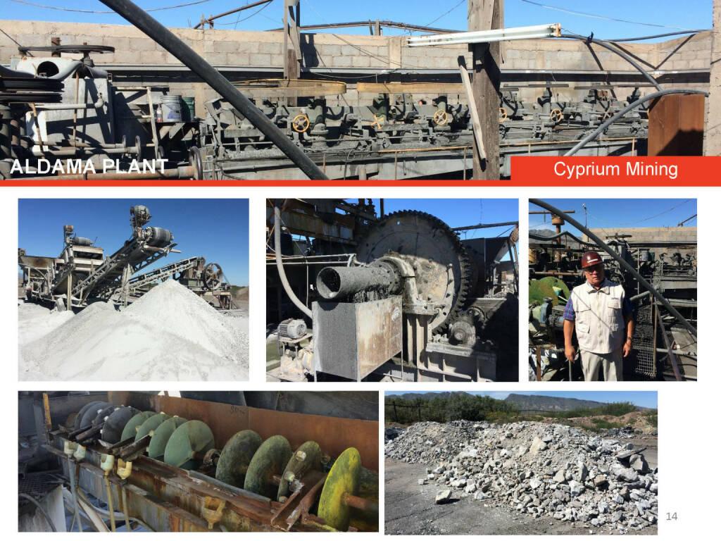 Aldama plant Cyprium Mining (26.04.2015)