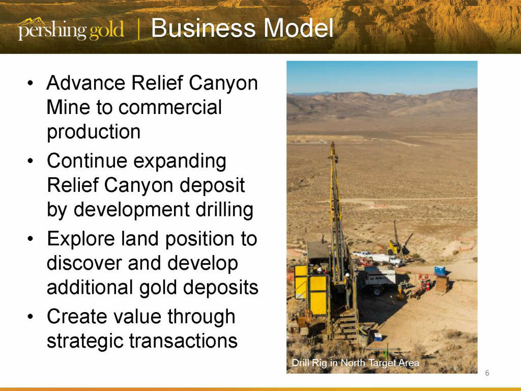 Business Model - Pershing Gold (26.04.2015)