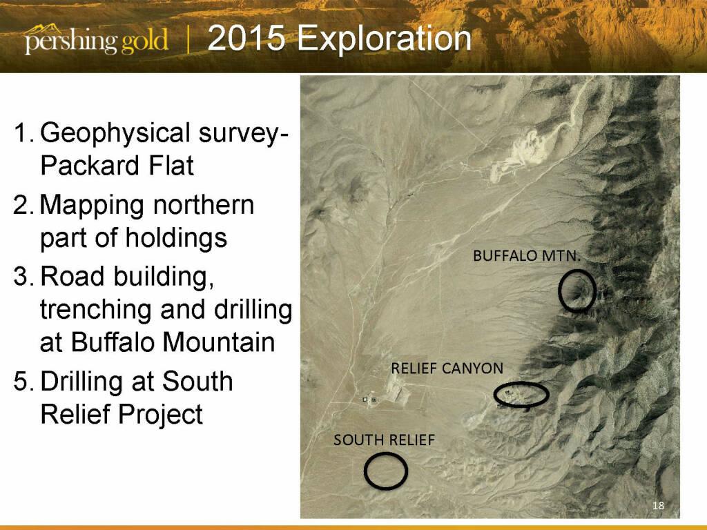 2015 Exploration - Pershing Gold (26.04.2015)