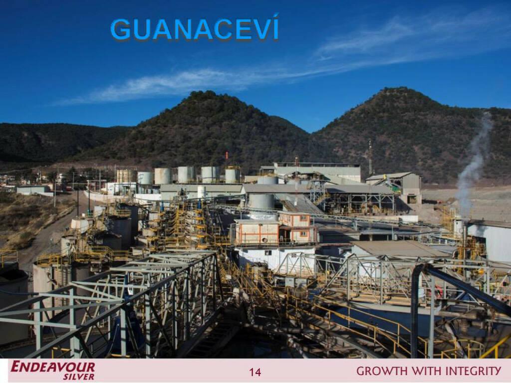 Guanaceví - Endeavour Silver (26.04.2015)