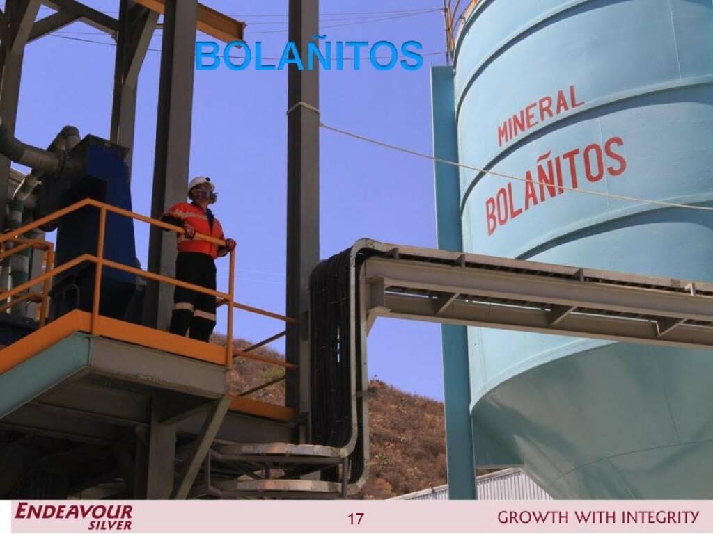 Bolañitos - Endeavour Silver (26.04.2015)
