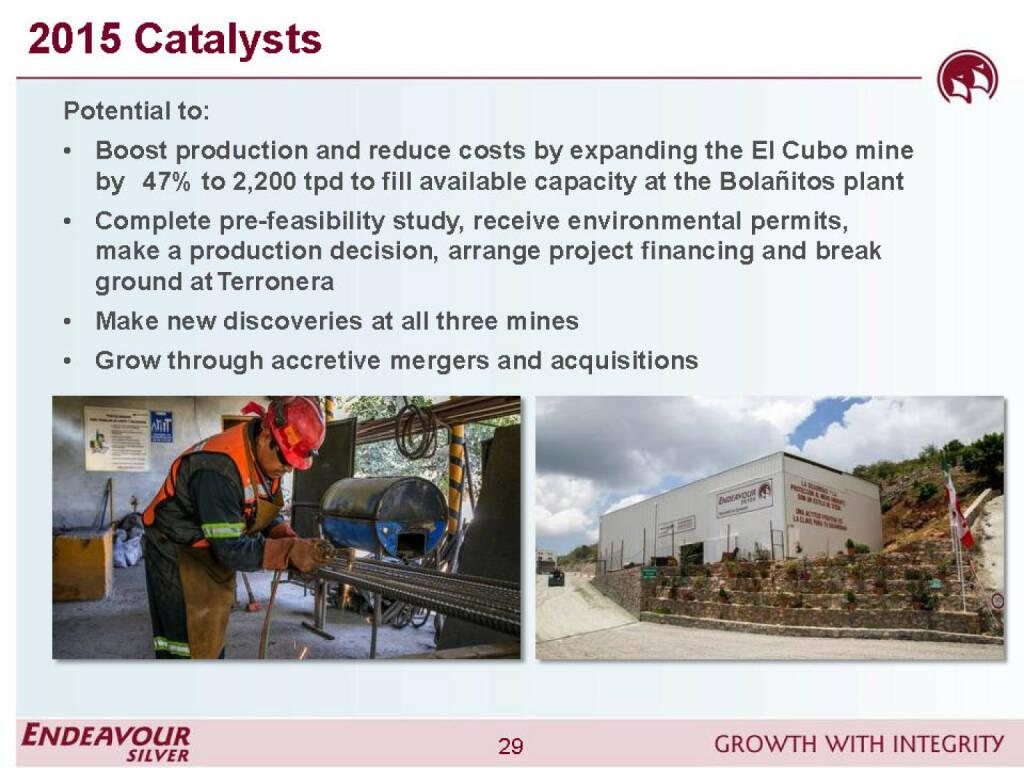 2015 Catalysts - Endeavour Silver (26.04.2015)