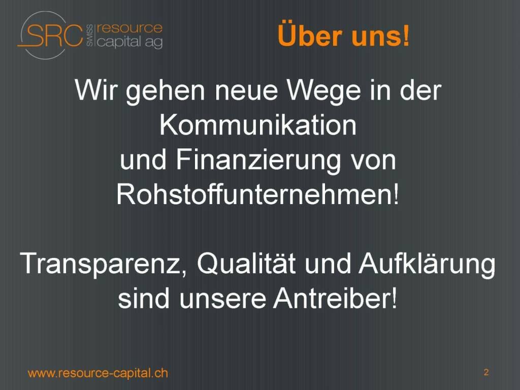 Über uns - Swiss Resource Capital) (26.04.2015)