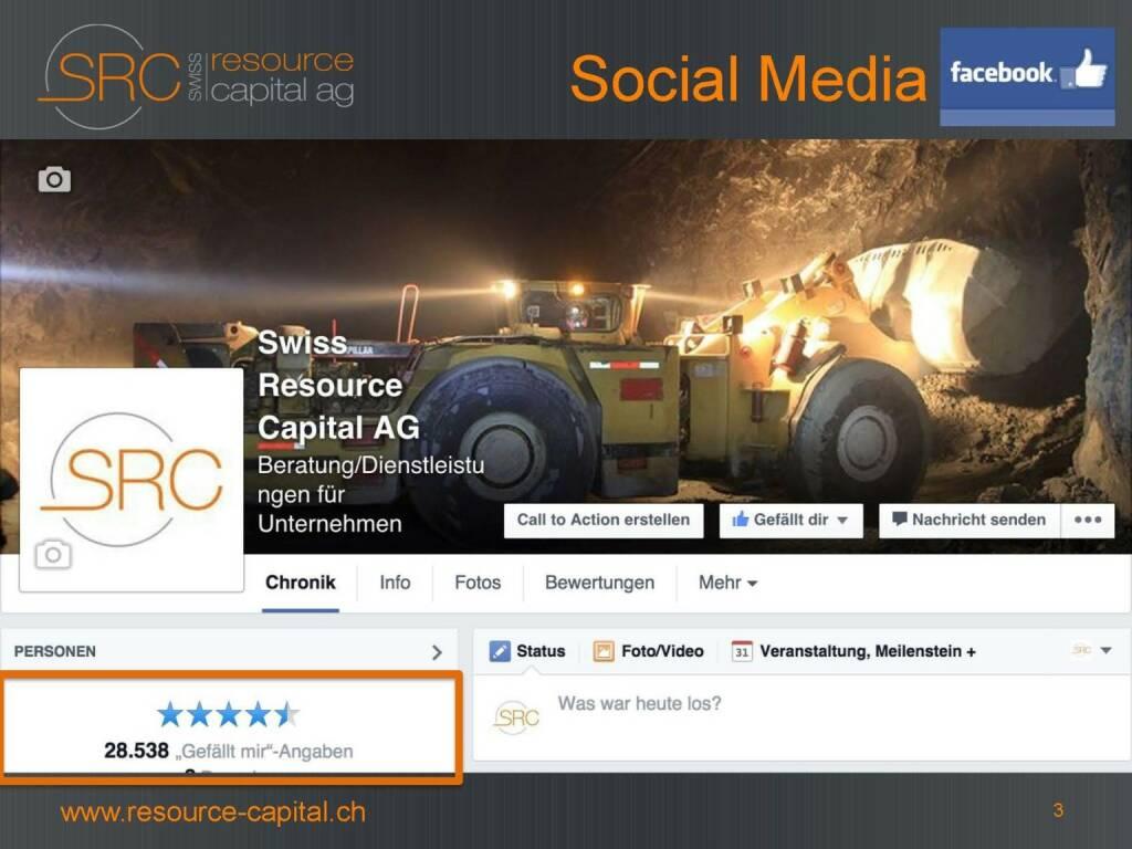 Social Media - Swiss Resource Capital) (26.04.2015)