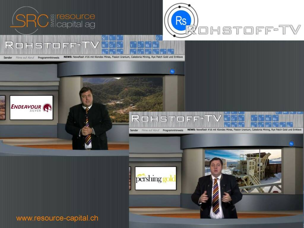 Rohstoff-TV - Swiss Resource Capital) (26.04.2015)