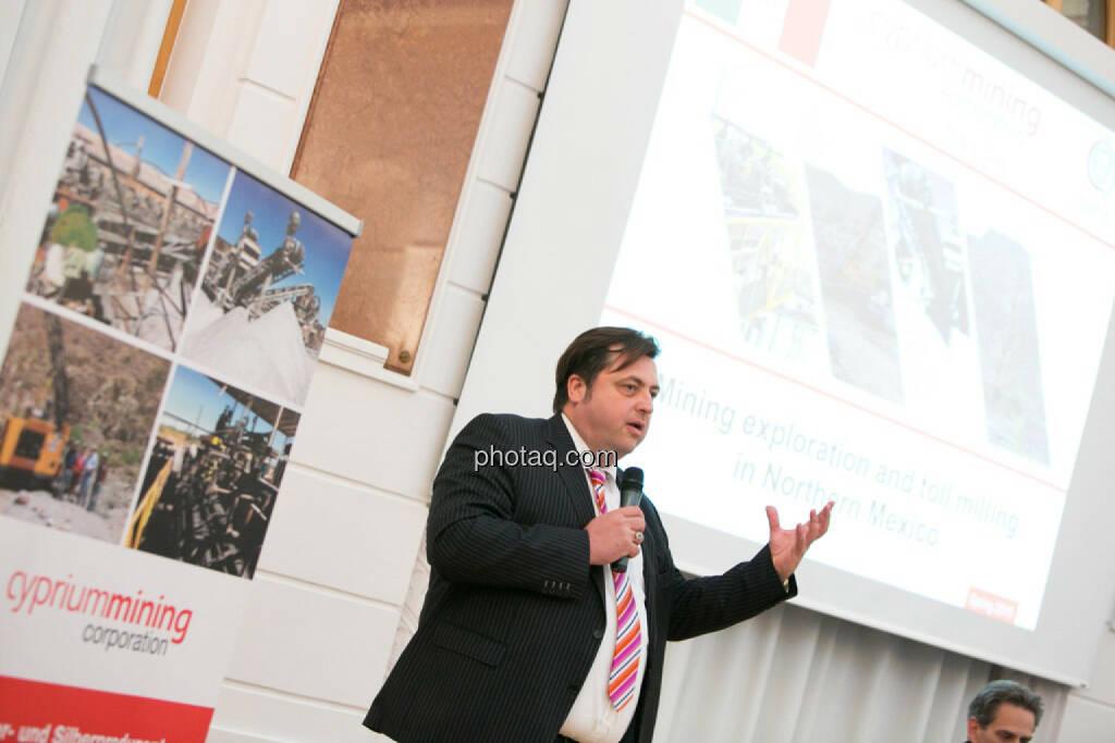Jochen Staiger (Swiss Resource Capital), © photaq/Martina Draper (27.04.2015)