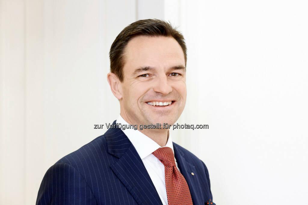 Lucien J. Berlinger wird neuer Vorstandsvorsitzender in der Zürcher Kantonalbank Österreich AG, © Aussender (27.04.2015)