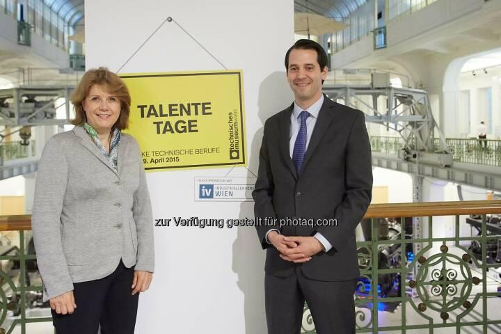 Gabriele Zuna-Kratky, Direktorin Technisches Museum Wien und Leopold Liechtenstein, Industriellenvereinigung Wien: Technisches Museum Wien: Talentetage – Technik hat Zukunft!