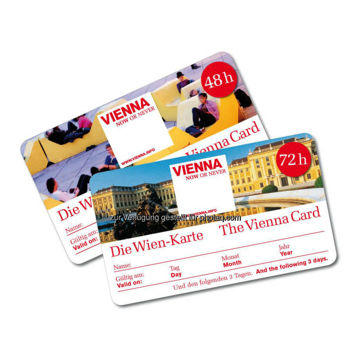 Austrian Airlines ist offizieller Partner der Wien-Karte.