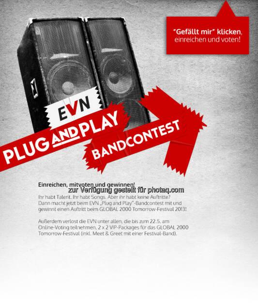 Der EVN Bandcontest auf Facebook (25.02.2013)