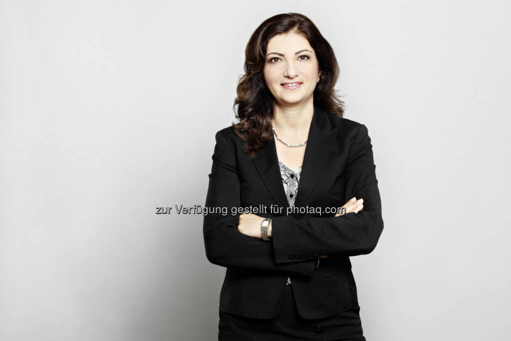 """Arezoo Edrisian ist neue Leiterin für """"Engineering"""" bei Kapsch TrafficCom, © Aussender (04.05.2015)"""