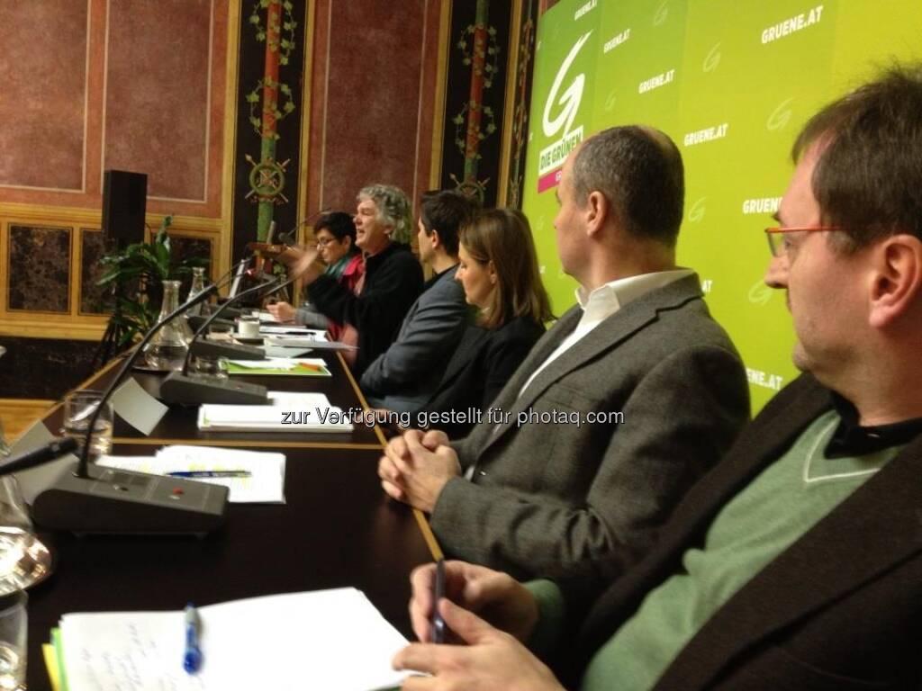 Parlaments-Enquete der Grünen zum Thema Crowd-Funding. Heini Staudinger spricht (mit freundlicher Genehmigung von Volker Plass) (25.02.2013)