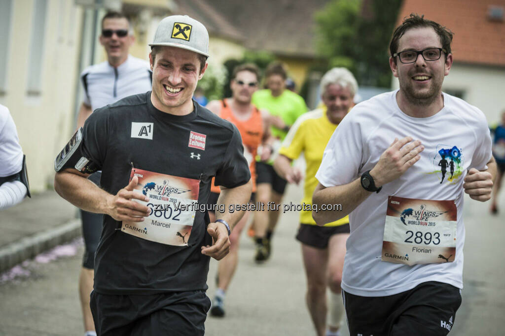 Marcel Hirscher runs during the Wings for Life World Run in St. Poelten, Austria on May 3rd, 2015. // Philip Platzer for Wings for Life World Run // Please go to www.redbullcontentpool.com for further information. // , © © Red Bull Media House (04.05.2015)