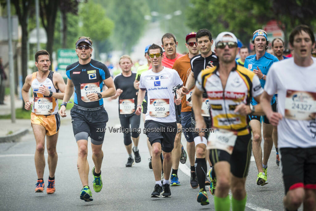 Benjamin Karl runs during the Wings for Life World Run in St. Poelten, Austria on May 3rd, 2015. // Philip Platzer for Wings for Life World Run // Please go to www.redbullcontentpool.com for further information. // , © © Red Bull Media House (04.05.2015)